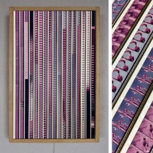 Pepsi Spanish TV Commercial - 16mm Film Collage - 12x18 Led Lightbox