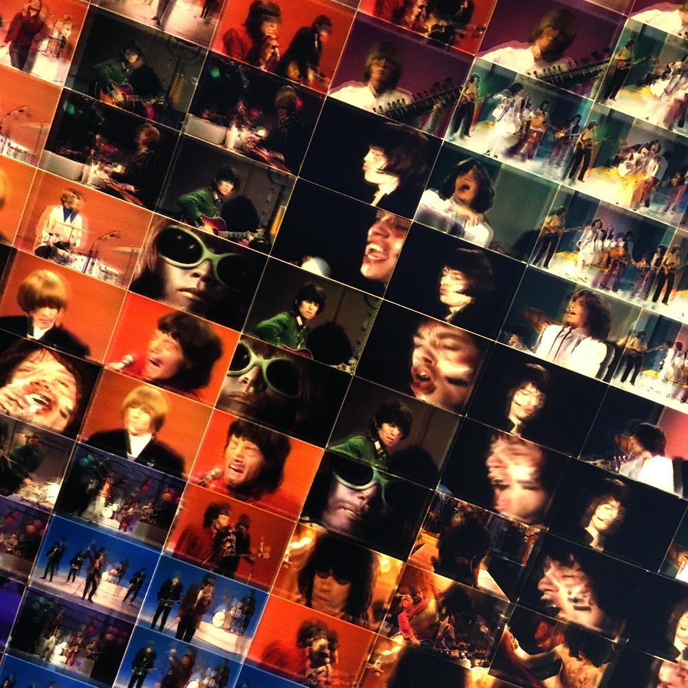 Rolling Stones Extravaganza – Film Keyframe Animation – 58x22 Led Lightbox