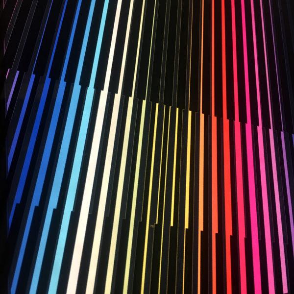 Prisma-Color Series - Graphic Art Optical Illusion - 12×12 Lightbox