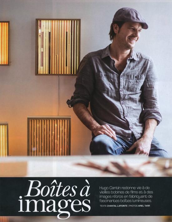 Les Idées De Ma Maison Magazine Mini Cinema Lightbox