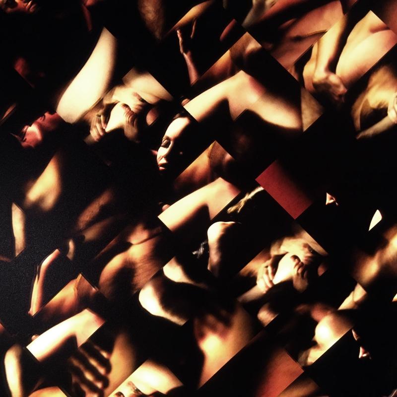 Mini-Cinema Lightbox - Luminous Skins Selection 22x46 Grid - Light Art by Hugo Cantin