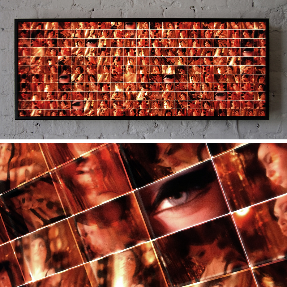Mondo Mod 1967 LSD Trip – Cinema Grid – 14x36 Led Lightbox