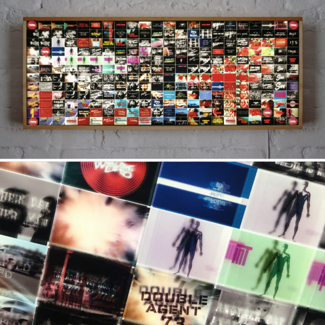 Something Weird Video Trailers - Grindhouse Odd Movies - 14x36 Led Lightbox by Mini-Cinema
