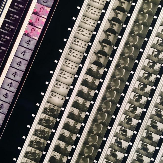 The Beatles Help - 18x18 Lightbox DETAIL