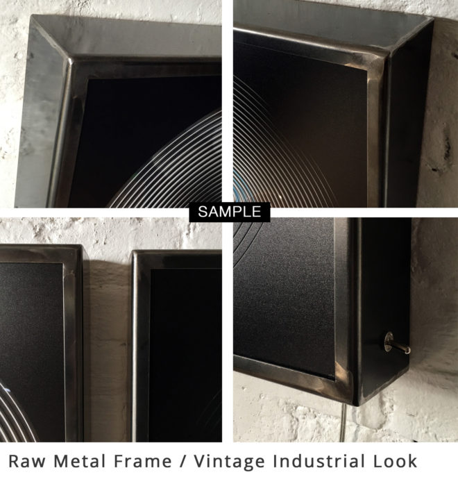 Mini-Cinema - Raw Metal frame - Vintage Industrial Look
