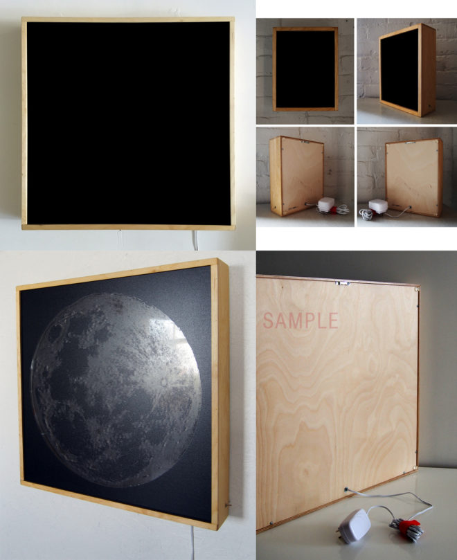 Sample 20x20 Birch Plywood Lightbox by Mini-Cinema