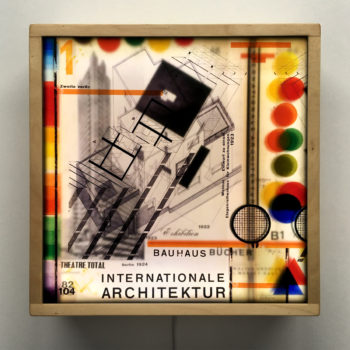 Bauhaus Architecture Mashup & Color Theory - 12x12 Lightbox