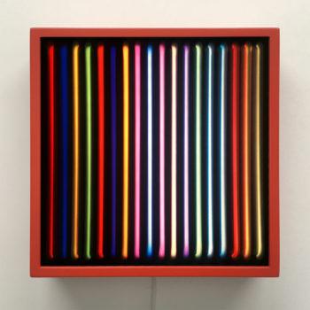 Faux Neon - Double Print Optical Effect - 12×12 Lightbox