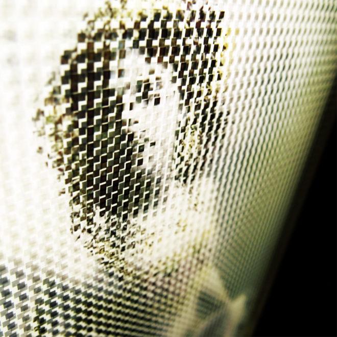 Mata Hari Illusion - Pixelated Exotic Dancer & Spy - 18x12 Lightbox by Mini-Cinema (Detail 1)