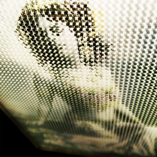 Mata Hari Illusion - Pixelated Exotic Dancer & Spy - 18x12 Lightbox by Mini-Cinema (Detail 2)