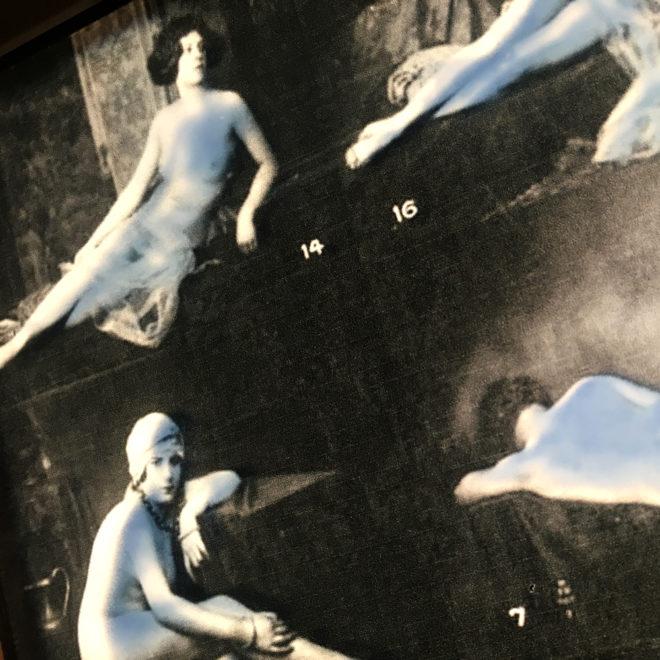 Mixing Mandel - 1920s Stock Card Erotica - 11x9 Lightbox by Mini-Cinema (Detail 2)