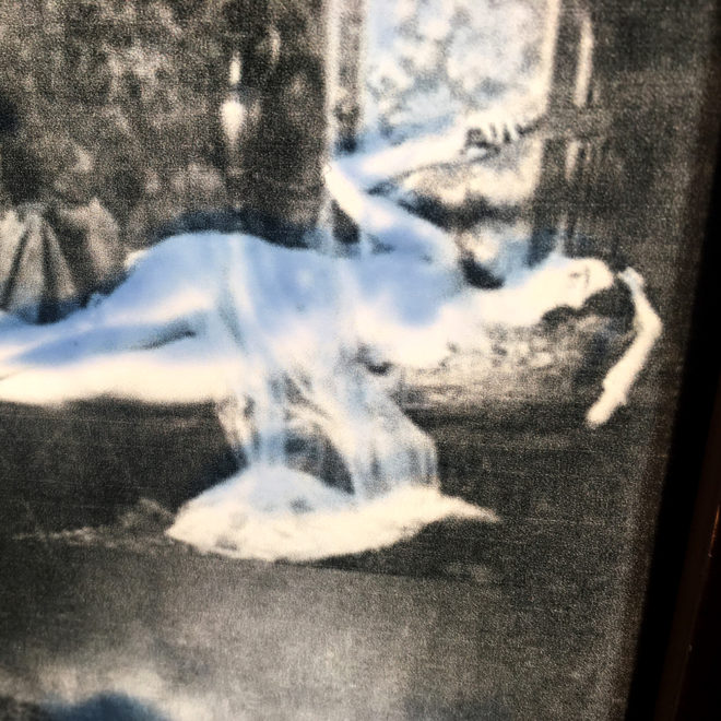 Mixing Mandel - 1920s Stock Card Erotica - 11x9 Lightbox by Mini-Cinema (Detail 3)