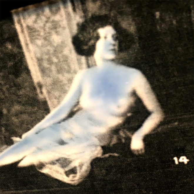 Mixing Mandel - 1920s Stock Card Erotica - 11x9 Lightbox by Mini-Cinema (Detail 4)