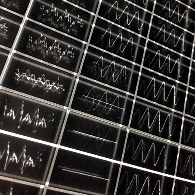 Music Sound Wave Graphic - 9x11 Led Lightbox by Mini-Cinema (Detail 2)