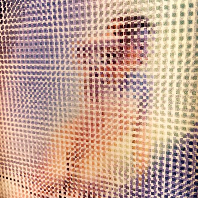 Paradies 1960s Magazine - Pixelated Glamour Girl - 11x9 Lightbox by Mini-Cinema (Detail2)