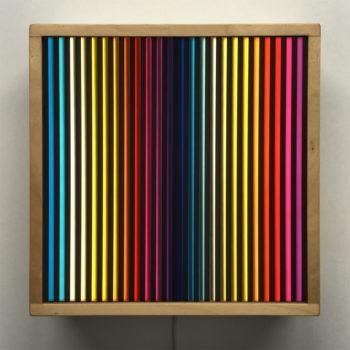 Prismacolor #2 Rainbow Optical Effect - 12×12 Lightbox by Mini-Cinema