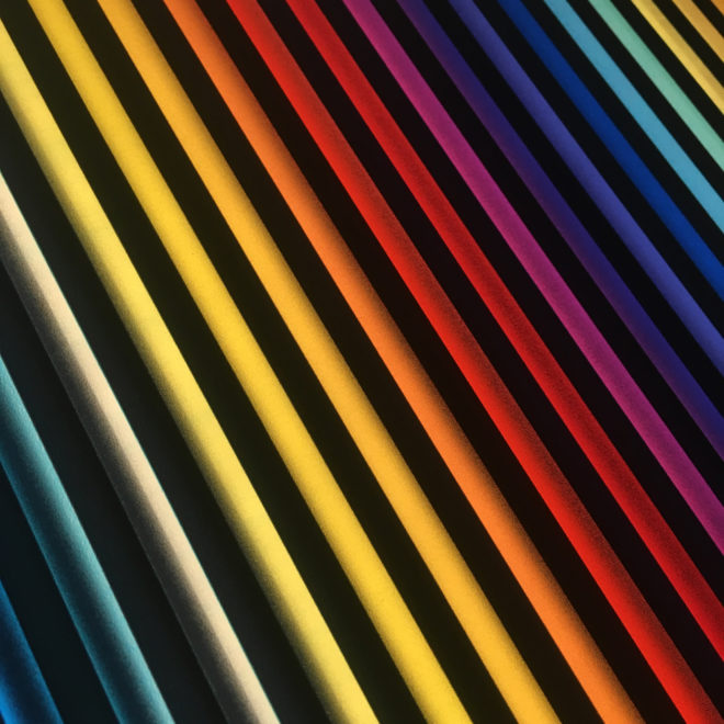 Prismacolor #2 Rainbow Optical Effect - 12×12 Lightbox by Mini-Cinema (Detail 1)