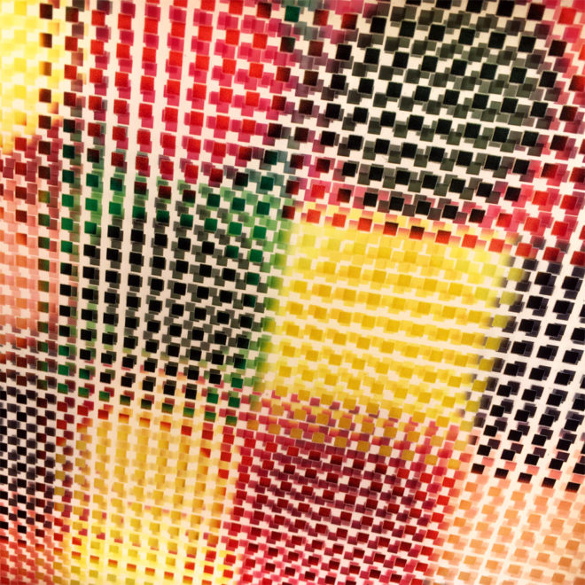Geometric Abstraction Mid-Century Psychedelia - 11x9 Lightbox by Mini-Cinema (Detail 2)