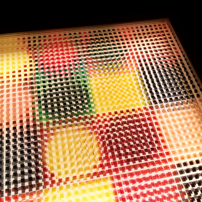 Geometric Abstraction Mid-Century Psychedelia - 11x9 Lightbox by Mini-Cinema (Detail 1)