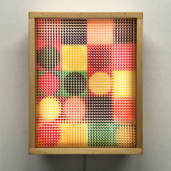 Geometric Abstraction Mid-Century Psychedelia - 11x9 Lightbox by Mini-Cinema