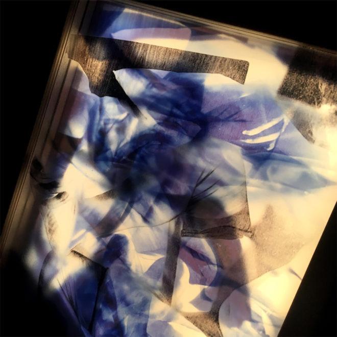Vanishing Drag Cross-Dressing - Vintage Erotica 11x9 Lightbox by Mini-Cinema (Detail 2)