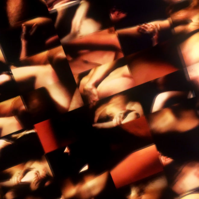 Luminous Skin Selection 1971 Psychedelic Film Mashup – 20x20 Lightbox by Mini-Cinema (Detail 2)