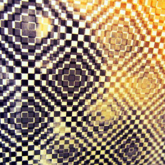 Monsieur X Pixelated Vintage Erotica - 11x9 Lightbox by Mini-Cinema (Detail 2)