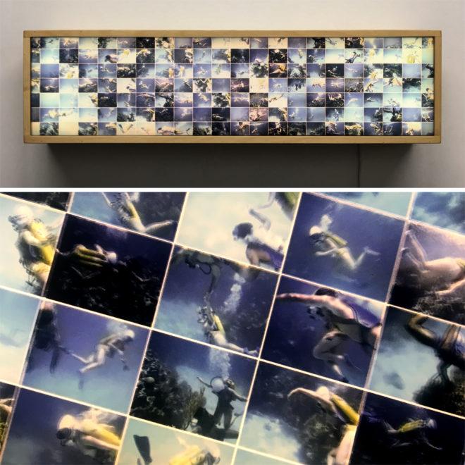 Tiger Reef Dive #2 – Underwater Film Keyframes – 7x28 Led Lightbox by Mini-Cinema
