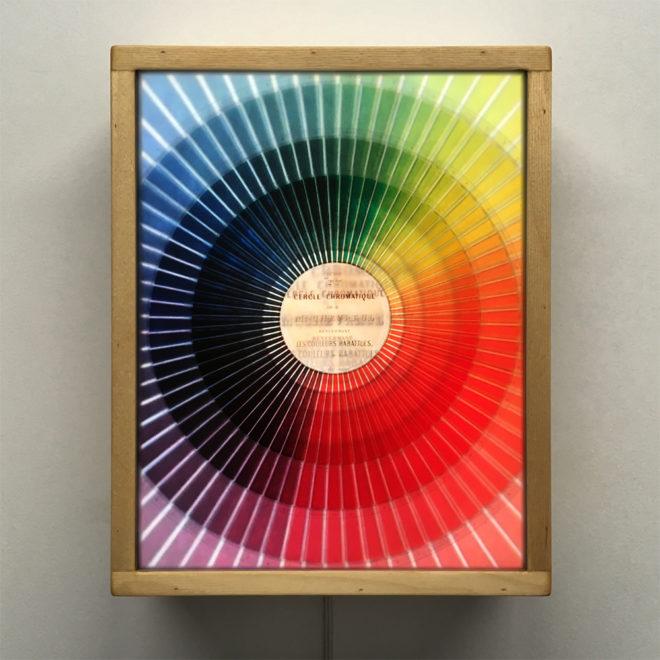 Cercle Chromatique Colorsystem - Multiple Print Depth Effect - 11x9 Led Lightbox by Mini-Cinema