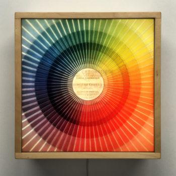 Cercle Chromatique Colorsystem - Multiple Print Depth Effect - 12x12 Led Lightbox by Mini-Cinema