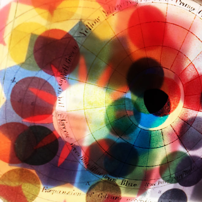 The Rainbow Chromatic Color Theory - Multiple Print Depth Effect - 11x9 Lightbox by Mini-Cinema (Detail3)