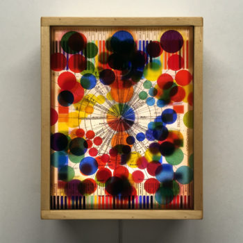 Solfege de Couleur Remix - Multiple Print Depth Effect - 11x9 Lightbox