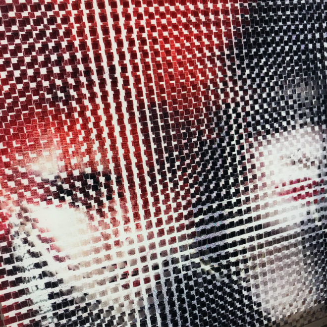 Pixelated 80s London Punk Girls - Image Deconstruction - 12x12 Lightbox by Mini-Cinema