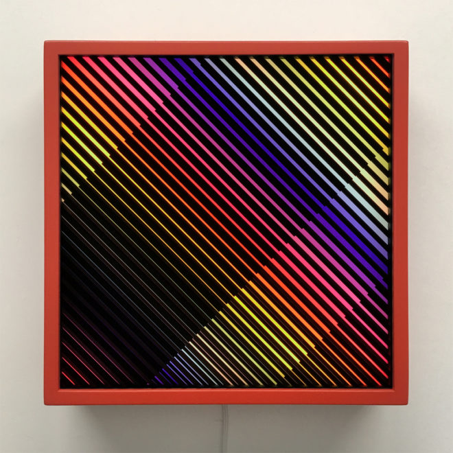 Prismacolor Interference #3 Rainbow Optical Effect - 12×12 Lightbox