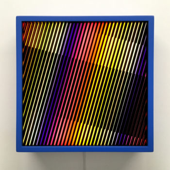 Prismacolor Interference #1 Rainbow Optical Effect - 12×12 Lightbox