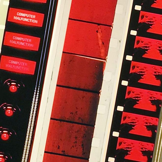 Film Strip Blow-up 10-11-12 - Long Slim 46x4 Lightbox