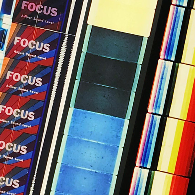Film Strip Blow-up 13-14-15 - Long Slim 46x4 Lightbox