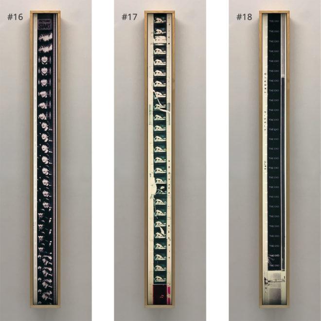 Film Strip Blow-up 16-17-18 - Long Slim 46x4 Lightbox