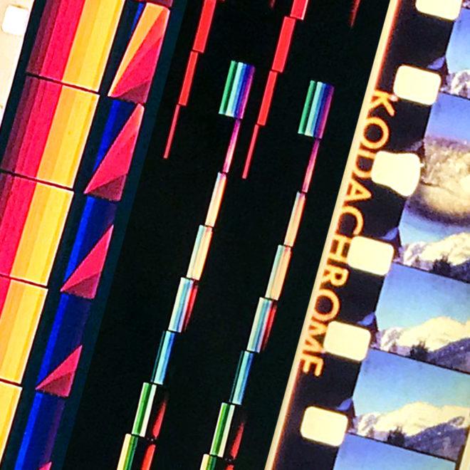 Film Strip Blow-up 19-20-21 - Long Slim 46x4 Lightbox by Mini-Cinema / Hugo Cantin