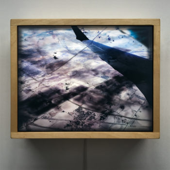 Flying over Kansas - Multiple Print Depth Effect - 11x9 Lightbox by Mini-Cinema / Hugo Cantin