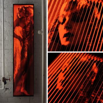 Vanishing Lili Damita 1929 Hollywood Star - Lofty 58x14 Lightbox by Mini-Cinema / Hugo Cantin