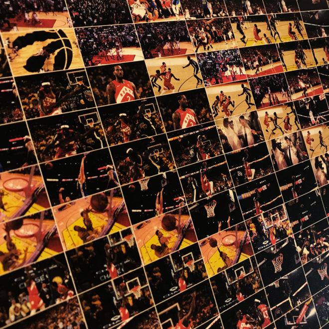 Toronto Raptors NBA Champs - Finals Highlights - 12x18 Lightbox